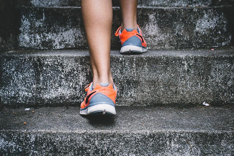 ускоряем метаболизм на лестнице