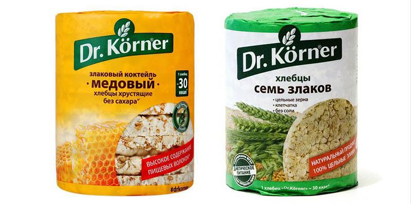 хлебцы dr korner